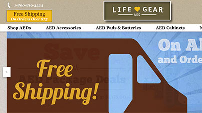 Life Gear AED